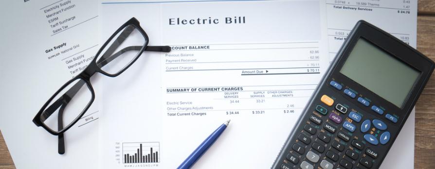 electric bill calculating