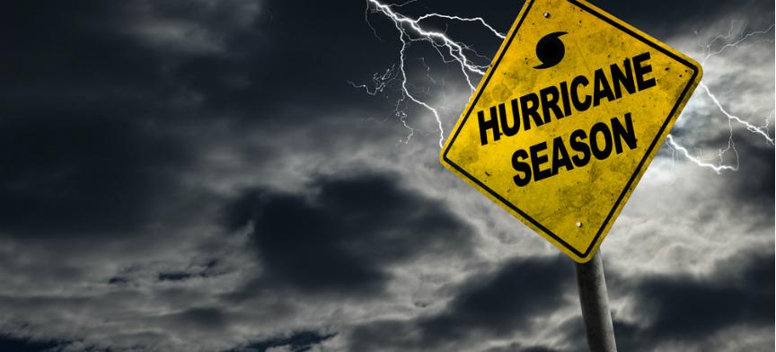 Hurrican Season sign